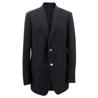 Dunhill Men's Black Camdeboo Mohair Blazer