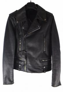 Joseph Ryder leather biker jacket UK 6
