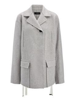 Joseph Double Wool Caplan Short Coat