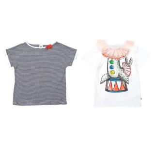 Stella McCartney and Petit Bateu T-Shirt Set