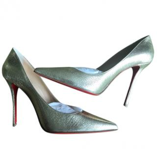 NEW Christian Louboutin leather pumps