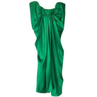 Amanda Wakeley Green Cocktail Dress