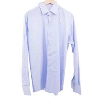 Richard James Savile Row Men's Light Blue Shirt
