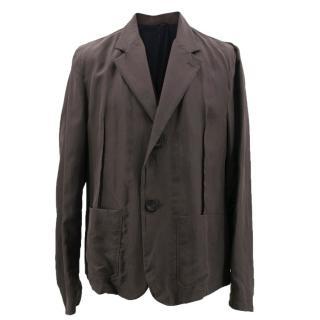 Lanvin Brown Blazer Jacket