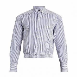 Balenciaga Boxy Striped Men Shirt SS2017