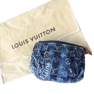 Louis Vuitton Denim Cosmetic Case