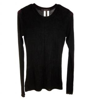 BCBG Max Azria Long Sleeved Stretch Top