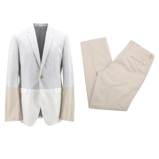 Jil Sander Men's Tricolour Suit