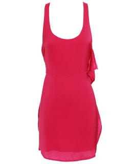 ACNE 'Magical' fuscia pink polyester dress