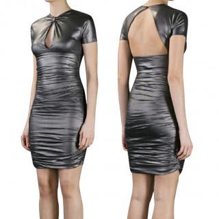 Pierre Balmain metallic dress