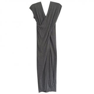 See By Chloe Grey Viscose Wrap Dress