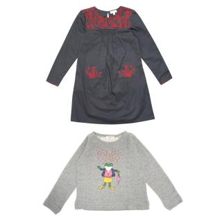CdeC Dress and Nice Things Jumper Set