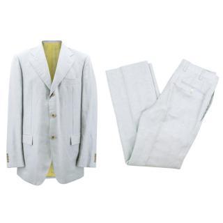 Kiton Men's Cashmere Blue Suit