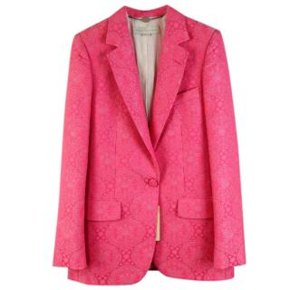 Stella McCartney Pink Print Jacket