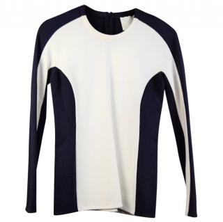 3.1 Phillip Lim Blue & White Top