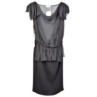 Vionnet Black Silk Dress