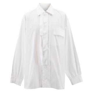 Yohji Yamamoto Men's White Shirt