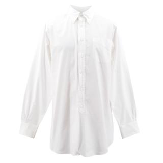 Brooks Brothers White Button Down Shirt