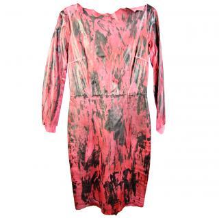 Balmain Calf  Leather Dress
