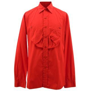Yohji Yamamoto Red Shirt