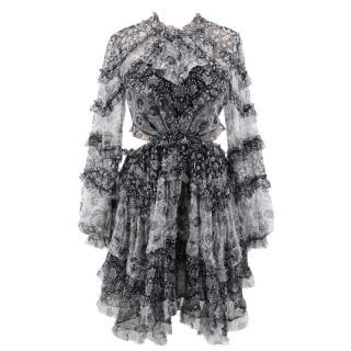 Zimmerman Silk Ruffled Dress