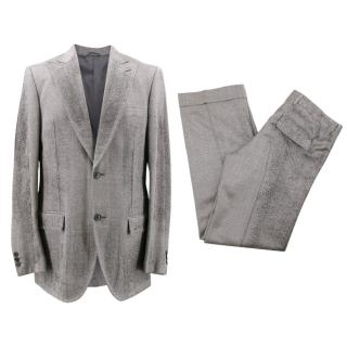 Custom Made Silk Suit