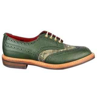 Hardy Amies x Trickers Men's Two Tone Derby Brogue