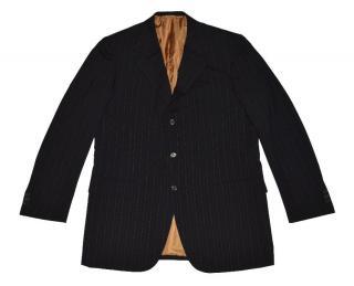 Brian Wool Three Button Blazer