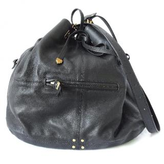 Jerome Drefuss - Alain Black Leather Bag