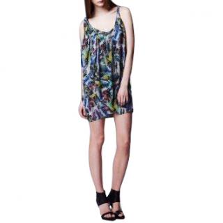 Acne free stoned silk dress