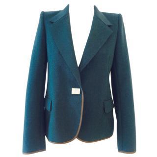 Kolor blue wool blazer
