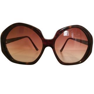 Ermanno Scervino  Brown Sunglasses