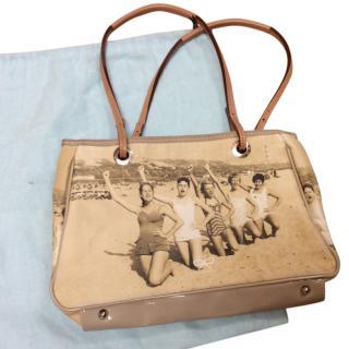 Anya Hindmarch bathing suit print bag