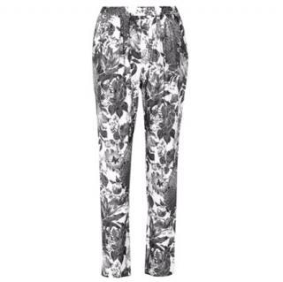 Stella McCartney Floral-print mid-rise skinny jeans