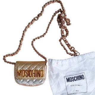 Love Moschino mini quilted cross body bag