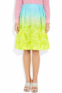 Jonathan Saunders Harmont Degrad Jacquard Skirt