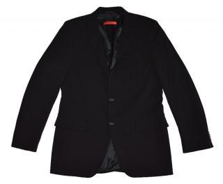 Hugo Boss Black Wool Two Button Blazer
