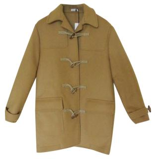 Tomas Maier Camel Double-breasted Coat