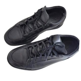 Balenciaga Classic Low Top Trainers In Black Uk 8