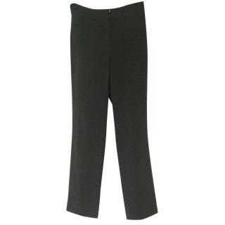 Akris Charcoal wool pants