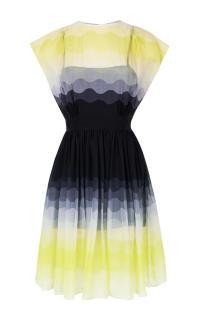 Jonathan Saunders Romy Ombre Chiffon Dress