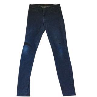 7-for-all-mankind dark indigo jeans