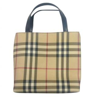 Burberry Nova Print Handbag