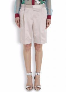 Jonathan Saunders Natural Ashley Pearl Satin Shorts