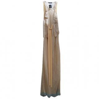 Sonia Rykiel full length silk/linen dress.