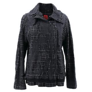 Heart Haat by Issey Miyake Grey Jacket