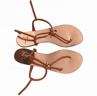 Giuseppe Zanotti metallic ladies sandals