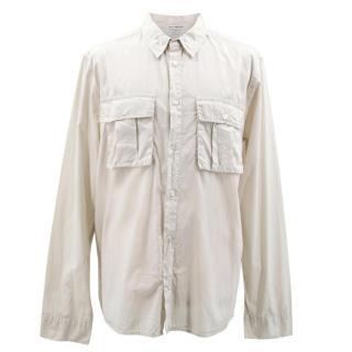 James Perse Men's Beige Shirt