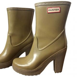 Hunter Heeled Wellingtons