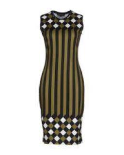 Jonathan Saunders Green Short Dress